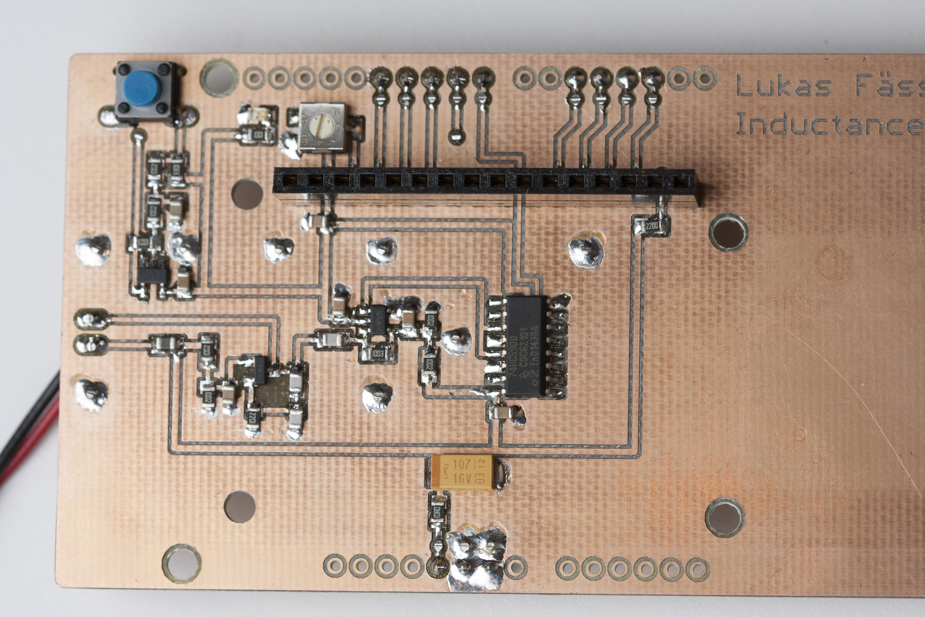 Inductor Coil Meter : Arduino based inductance meter soldernerd